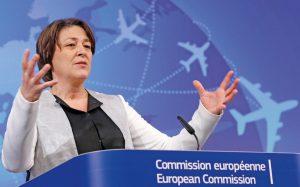 EU-Verkehrskommissarin Violeta Bulc © Reuters