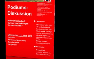 Einladung zur Podiumsdiskussion in Neubeuern