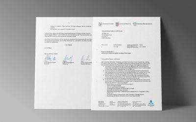 Rohrdorf, Riedering und Stephanskirchen stellen Antrag auf Unterlassung der weiteren Planungen